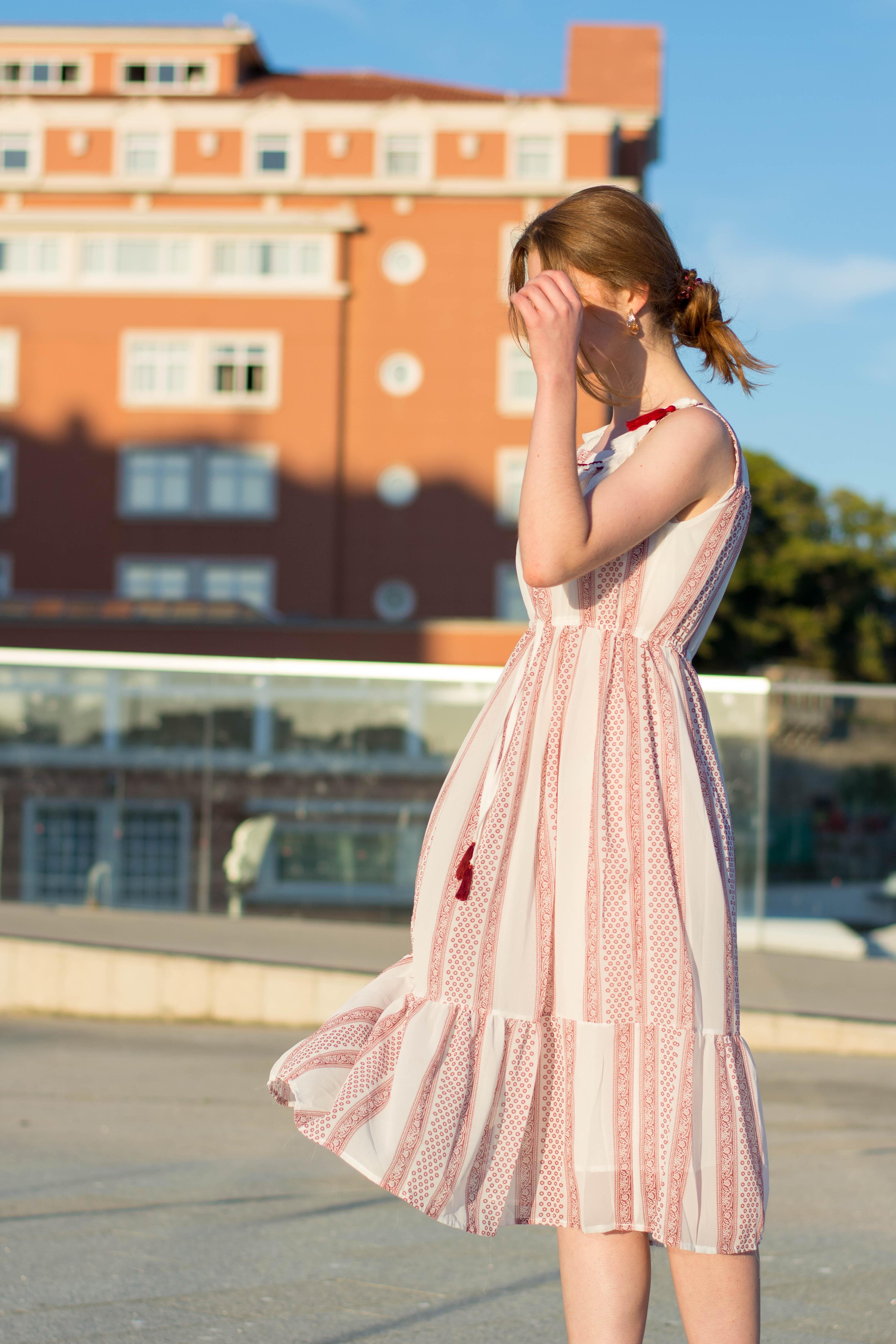 Bohemian summer dress: el vestido bohemio perfecto para el verano- martinalubian.com