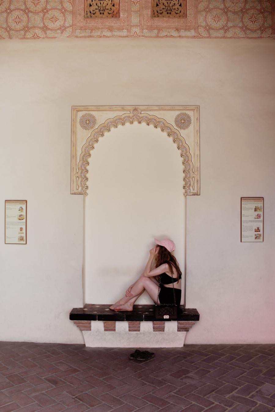 Alcazaba Málaga- Martina Lubian