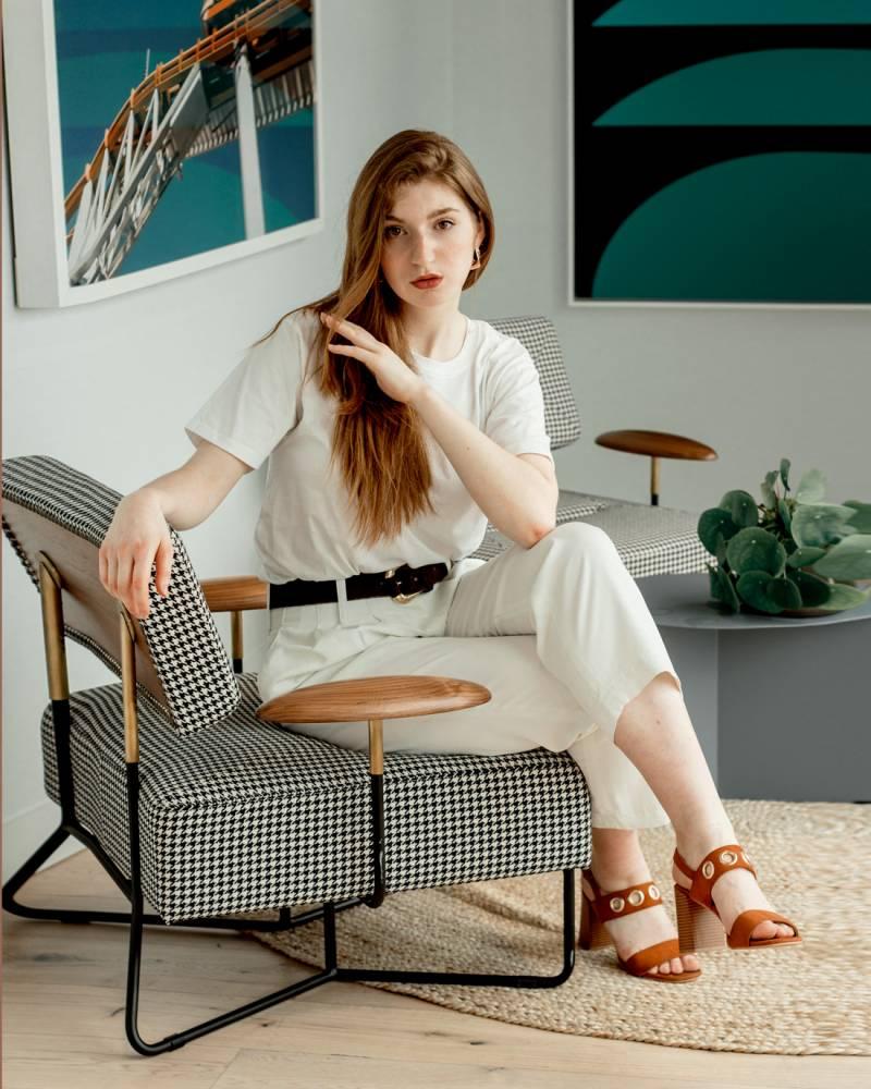 Cómo vestir para una entrevista en verano- Martina Lubián