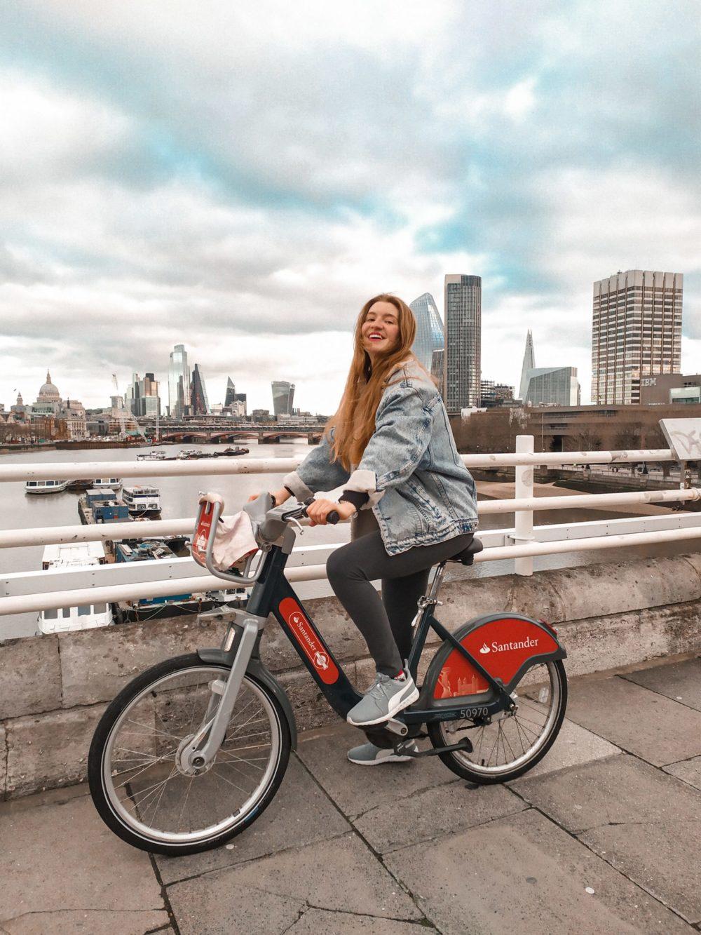 Santader Cycles London - Martina Lubian