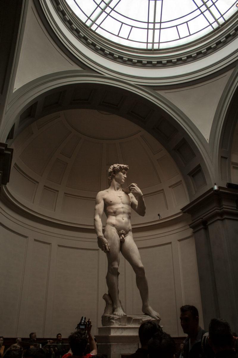 What to visit in Florence-Qué ver en Florencia:Galleria Dell'Academia - David Michelangelo- Miguel Ángel