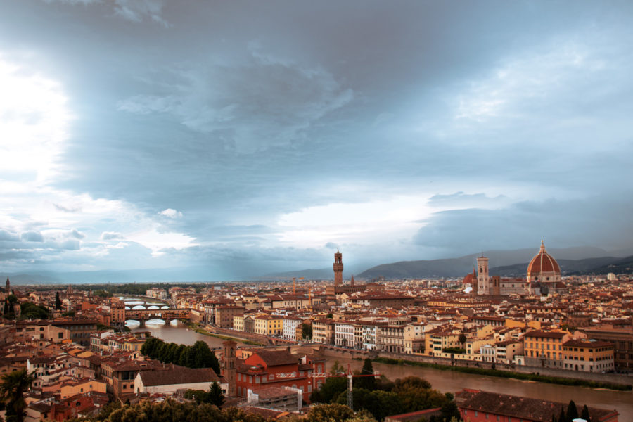 What to visit in Florence- Qué ver en Florencia: Piazzale Michelangelo- Martina Lubian