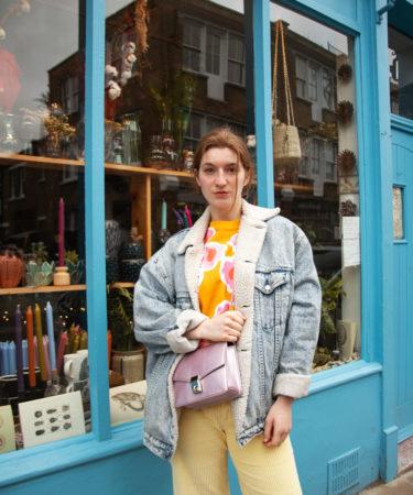 Martina Lubian at Columbia Road Market, London (2021)