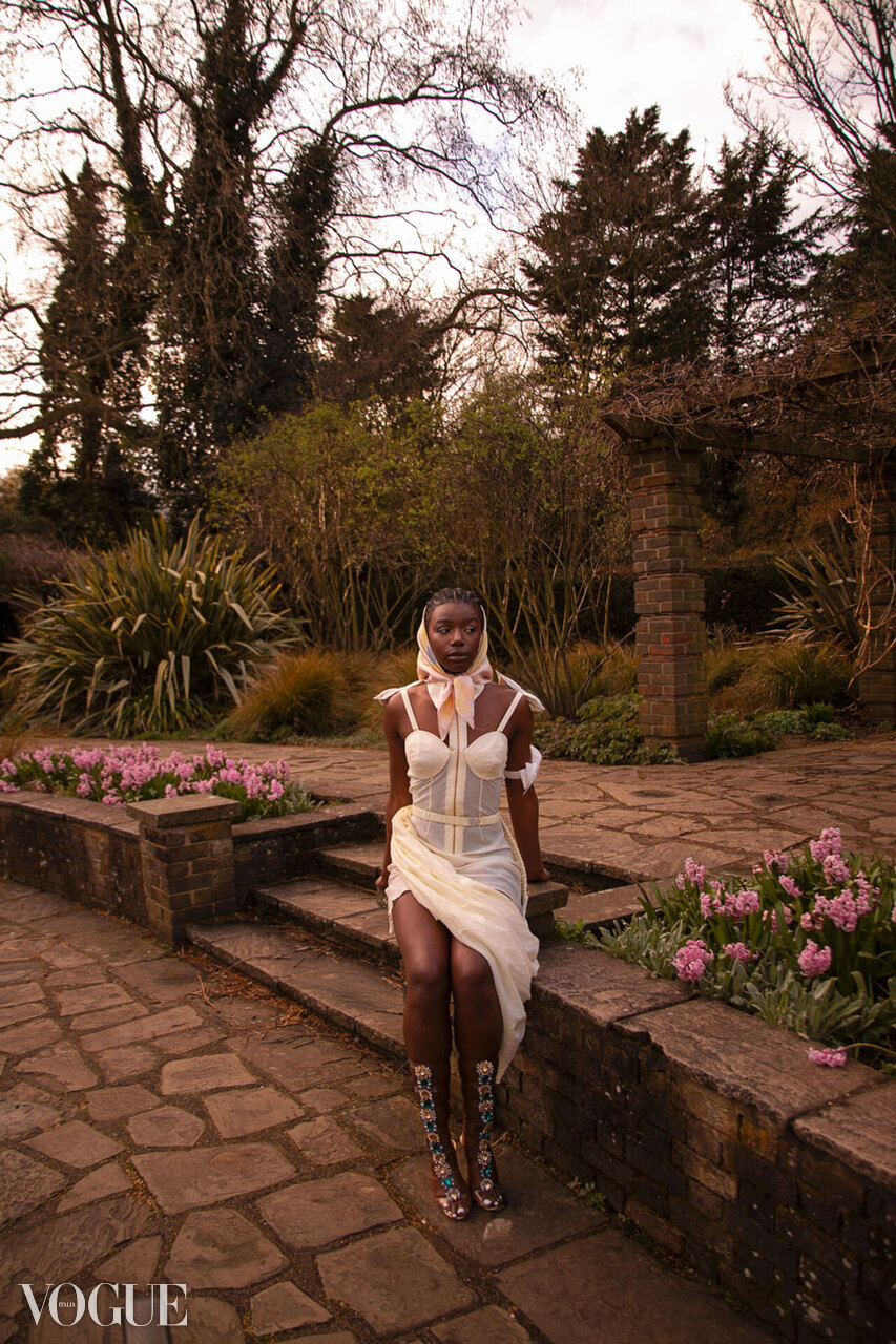 Martina X Nichloris (featured on Vogue Italia)