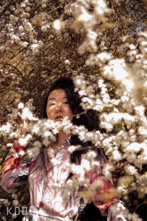 Spring in Hampstead (Martina Lubian featured in KODD Magazine)